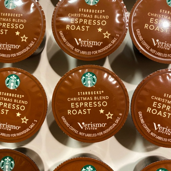 Starbucks Other - Verismo Christmas Blend Pods